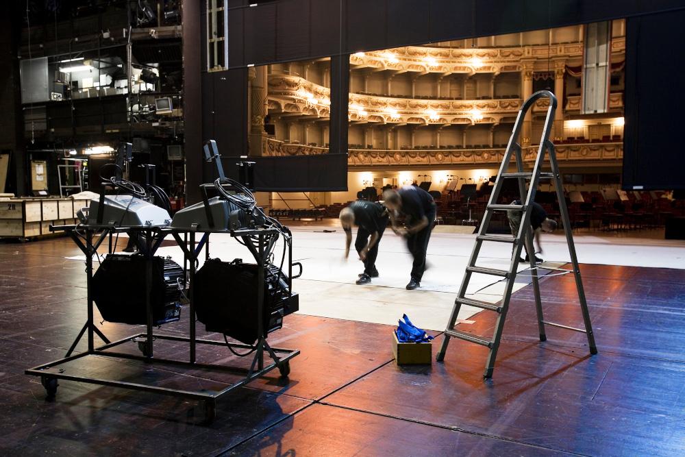 backstage teatro